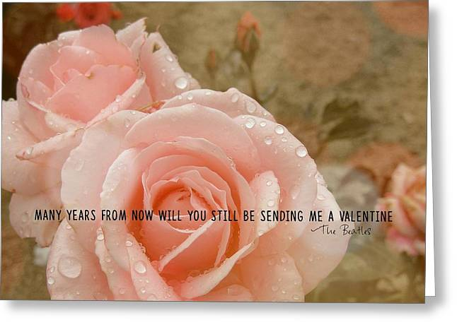 When I'm 64 Quote Greeting Card by JAMART Photography