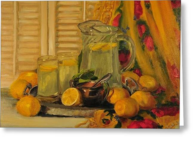 When life gives you lemons greeting cards fine art america when life gives you lemons greeting card m4hsunfo