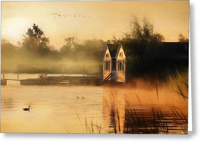 When Morning Calls Greeting Card by Lori Deiter