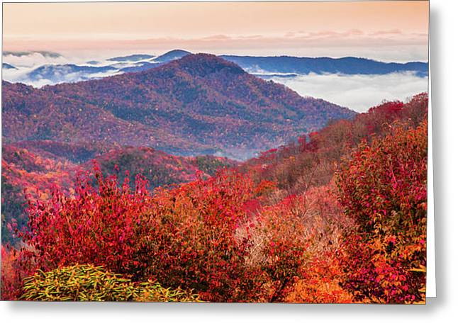 Greeting Card featuring the photograph When Mountains Sing by Karen Wiles