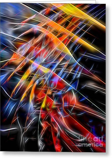 Greeting Card featuring the digital art When Prayer And Worship Embrace by Margie Chapman