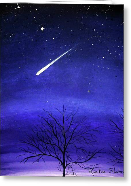 When Stars Fall Greeting Card