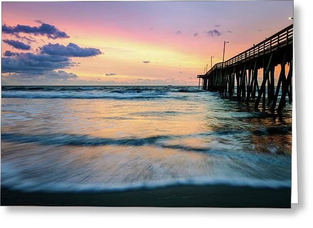 When The Tides Return Greeting Card