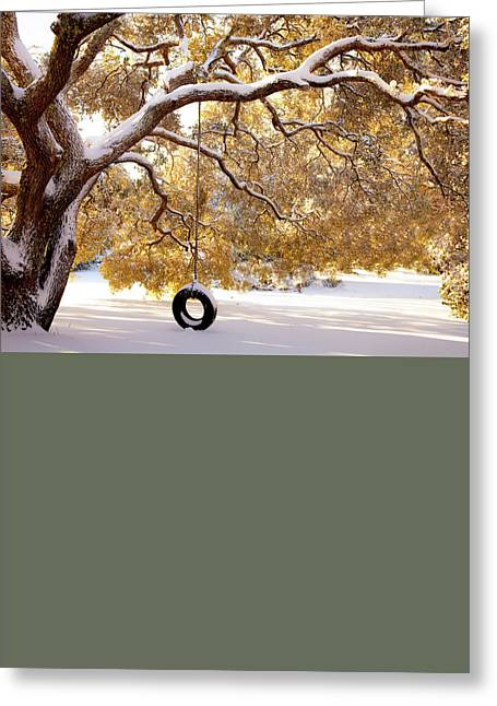 Greeting Card featuring the photograph When Winter Blooms by Karen Wiles