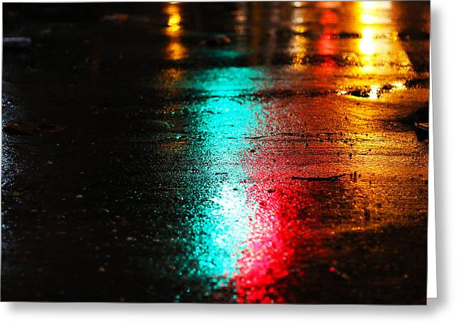 Whenever It Rains Greeting Card