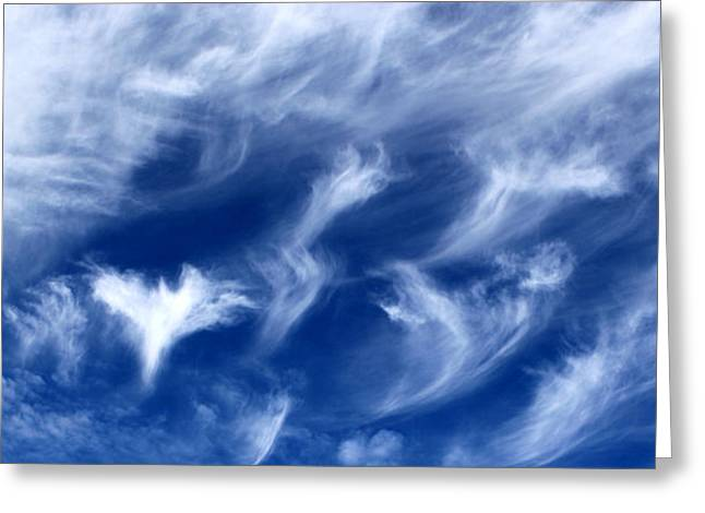 Where Angels Fly Greeting Card