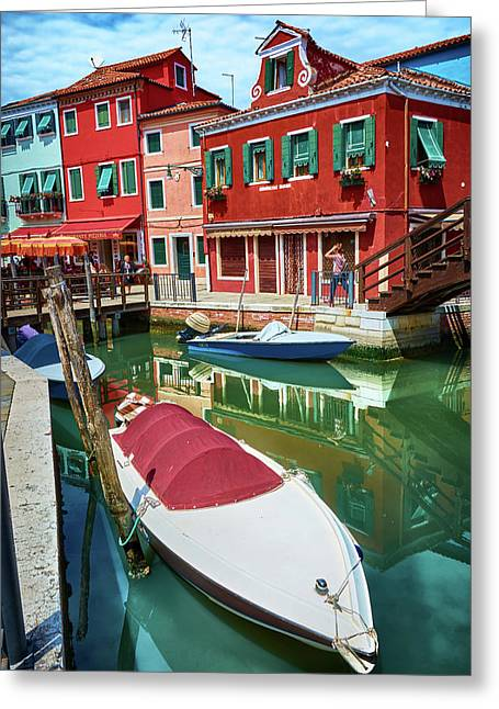 Where Did You Park The Boat? Greeting Card