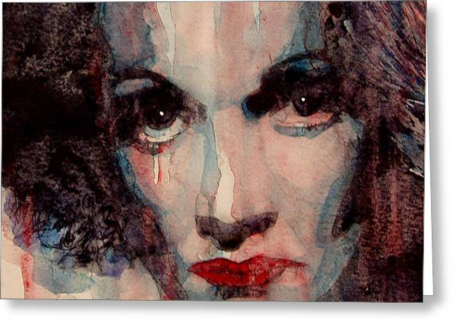 Where Do You Go My Lovely Greeting Card by Paul Lovering