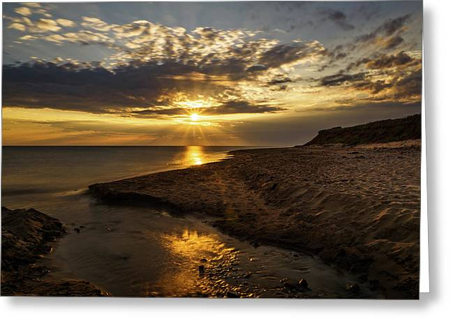 Greeting Card featuring the photograph Where Freshwater Joins Saltwater by Chris Bordeleau