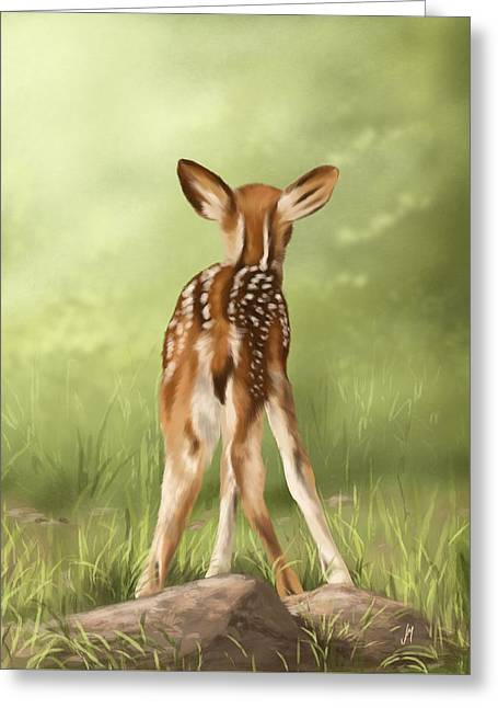 Where Is My Mom? Greeting Card by Veronica Minozzi