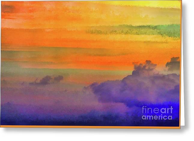 Where Rainbows Begin Greeting Card