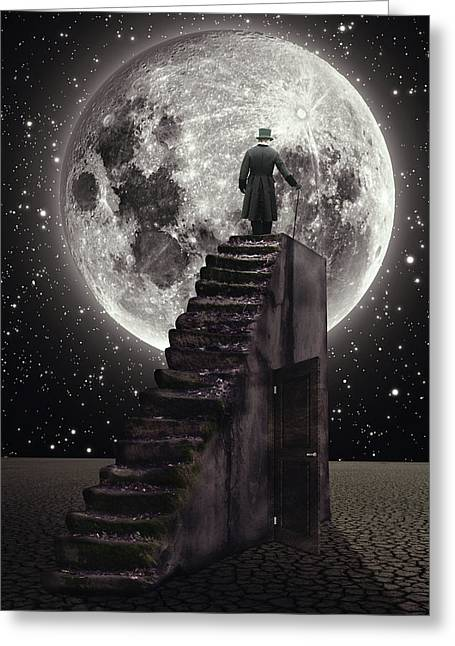 Where The Moon Rise Greeting Card