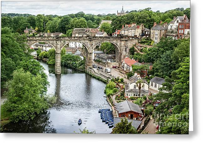 Where The River Flows Greeting Card