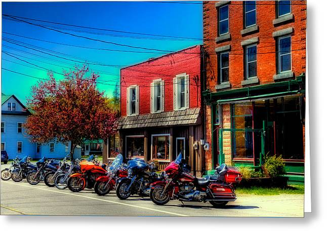 Where's My Ride - Old Forge Ny Greeting Card by David Patterson