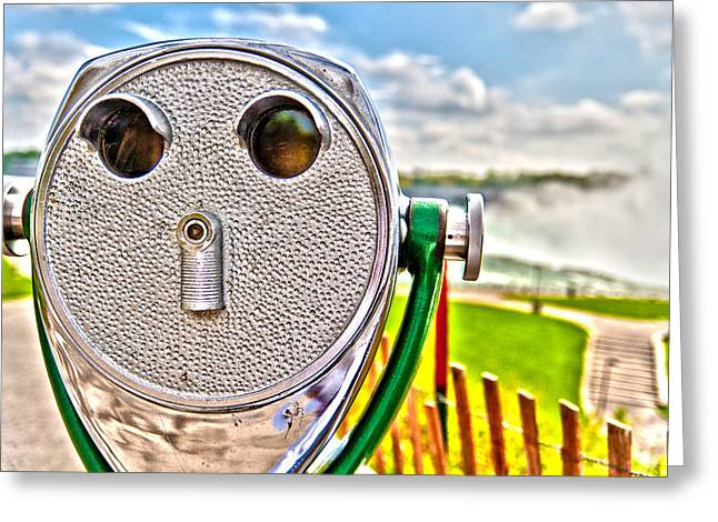 Whimsical View Greeting Card