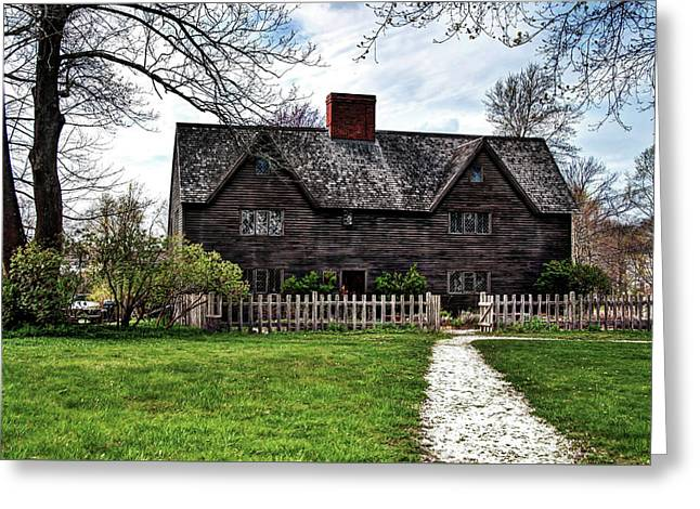 The John Whipple House In Ipswich Greeting Card