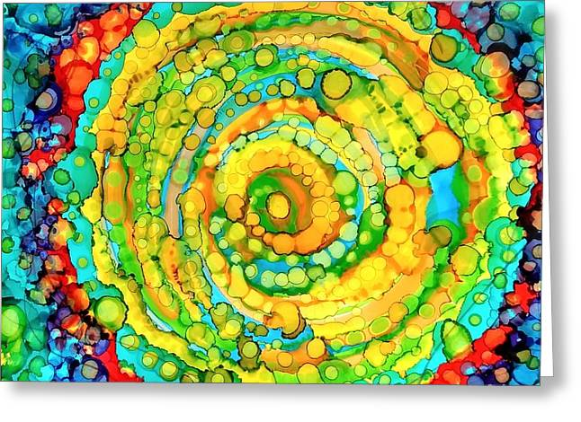 Whirling Greeting Card
