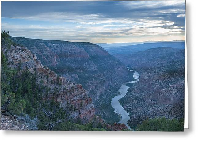 Greeting Card featuring the photograph Whirlpool Canyon by Joshua House
