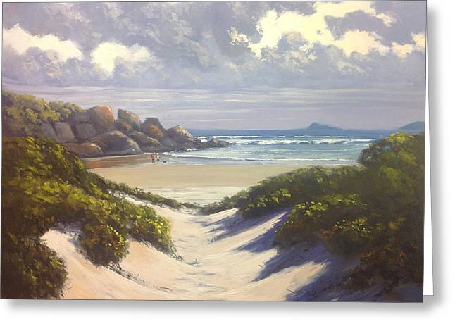 Whisky Bay Wilsons Promontory Greeting Card