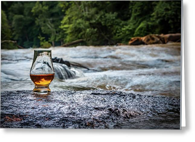 Whisky River Greeting Card