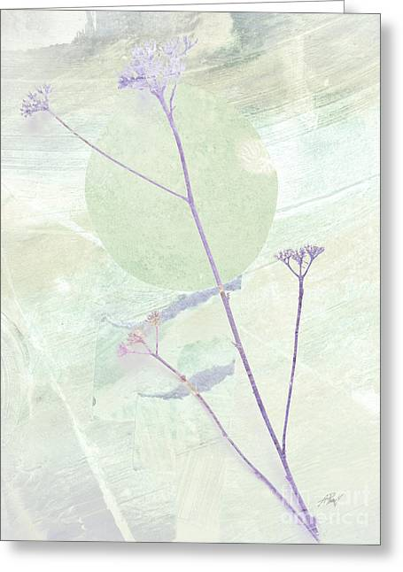 Whisper In The Wiind Greeting Card by Ann Powell