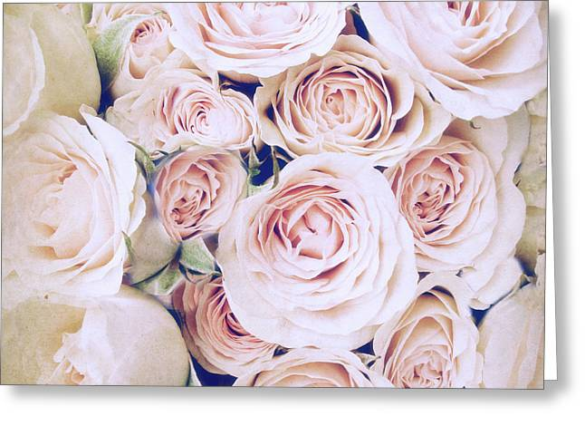 Whisper Of Rose Greeting Card by Jessica Jenney