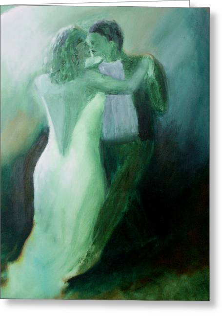 Whispered Passion Greeting Card