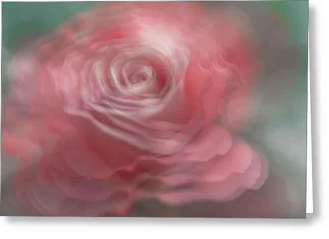 Whispering Beauty Greeting Card by Jenny Rainbow