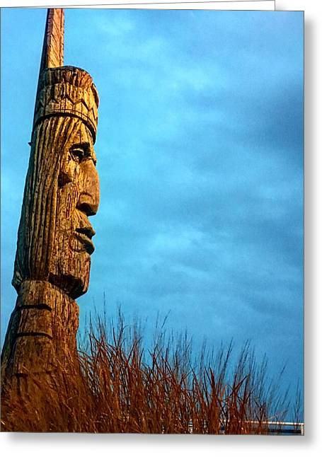 Whispering Giant Greeting Card by Sumoflam Photography