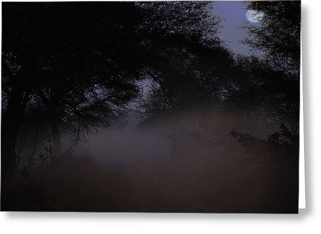 Whispering Mist Greeting Card