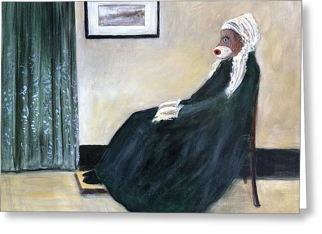 Whistlin Mother Greeting Card