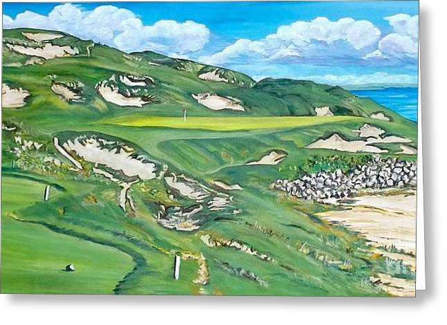 Whistling Straits #7 Greeting Card by Frank Giordano
