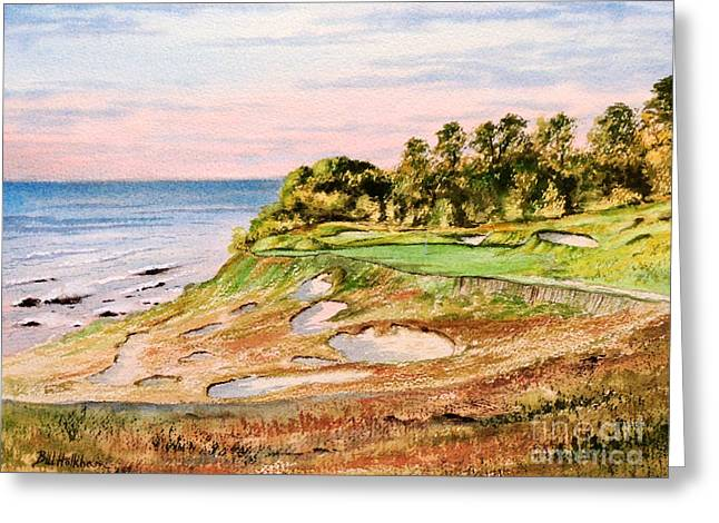 Whistling Straits Golf Course 17th Hole Greeting Card