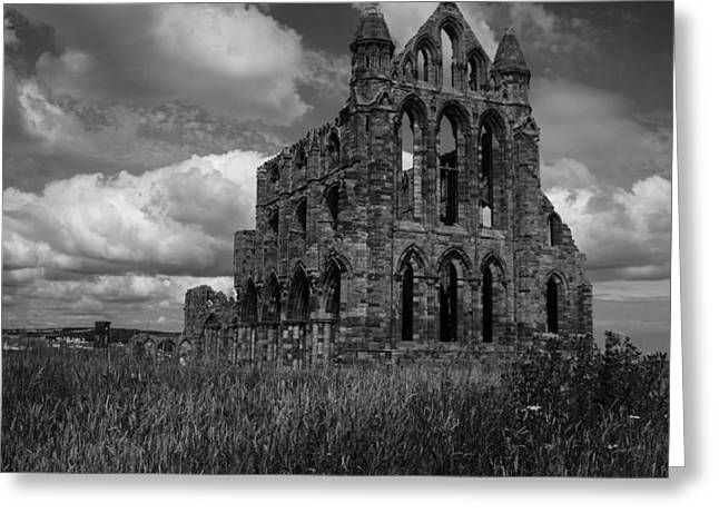 Whitby Abbey, North York Moors Greeting Card