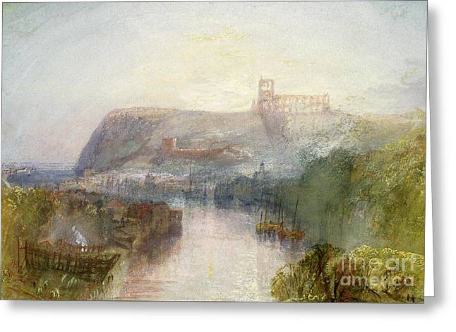 Whitby Greeting Card by Joseph Mallord William Turner