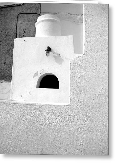 Greeting Card featuring the photograph White Abstract by Ana Maria Edulescu