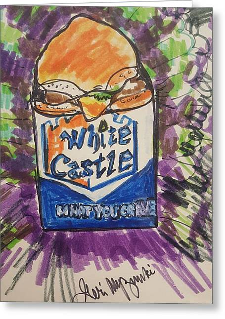White Castle Greeting Card