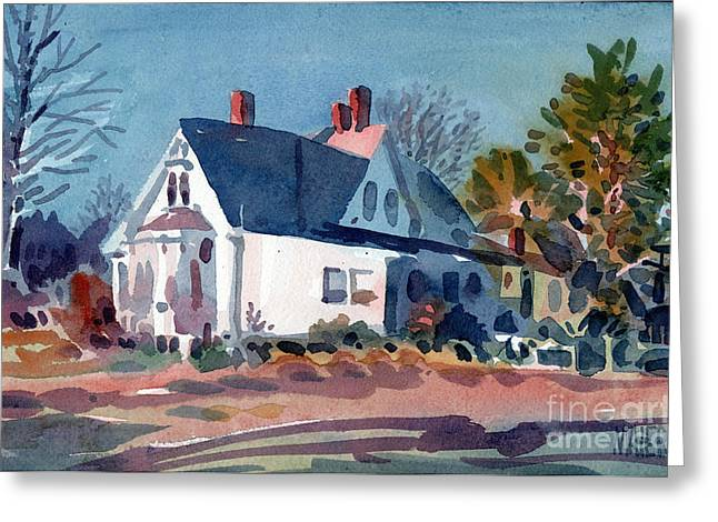 White House Greeting Card by Donald Maier