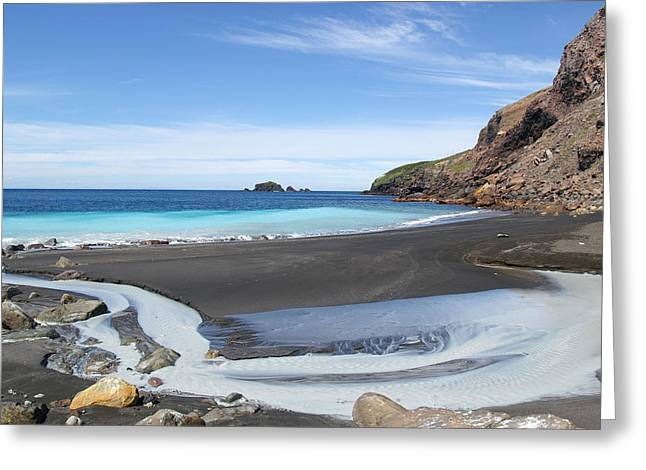 White Island In New Zealand Greeting Card by Jessica Rose