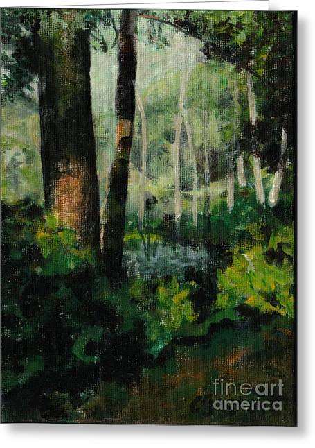 White Mountain Woods Greeting Card