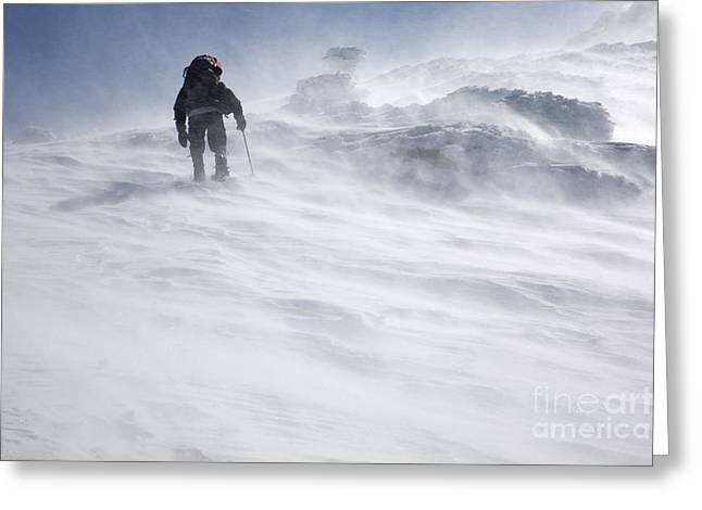 White Mountains New Hampshire - Extreme Weather Greeting Card