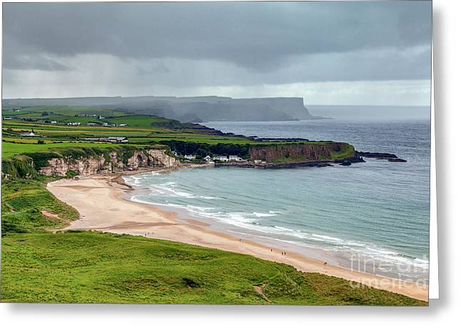 White Park Bay Greeting Card by Jim Orr