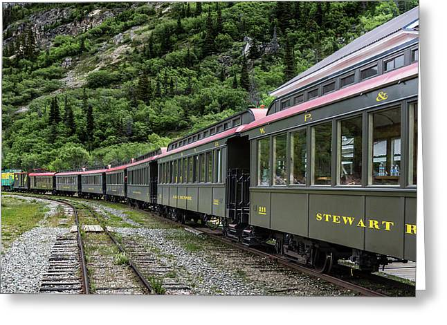 White Pass And Yukon Railway Greeting Card