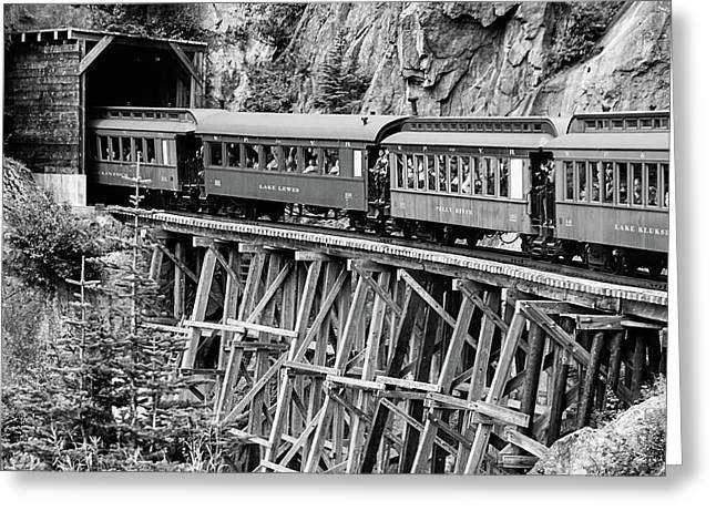 White Pass Railway Greeting Card
