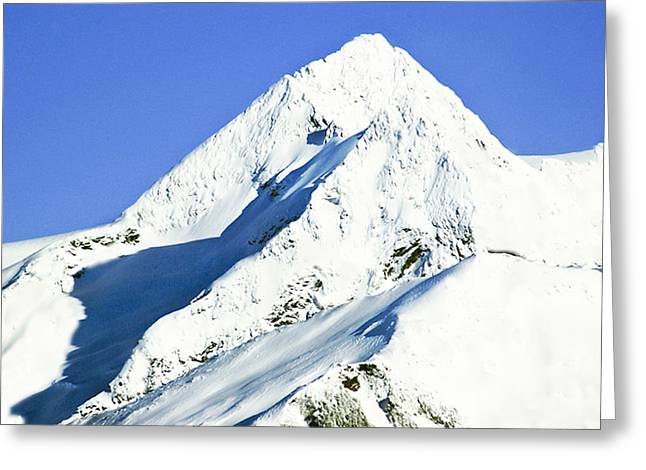 White Pass Sommet Greeting Card by Robert OP Parrish