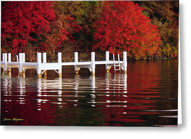 White Pier - Lake Geneva Wisconsin Greeting Card
