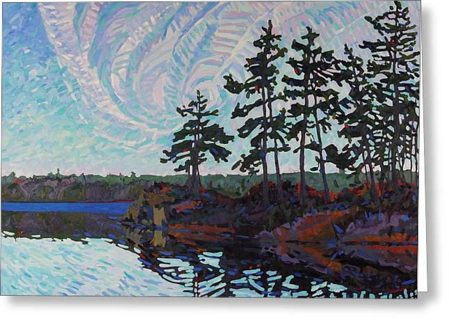 White Pine Island Greeting Card