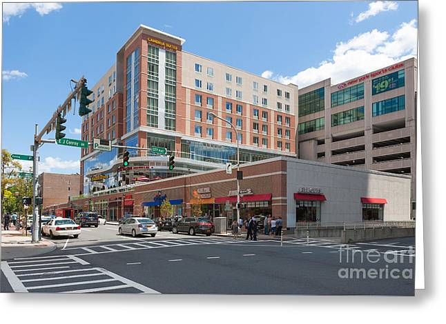 White Plains City Center I Greeting Card