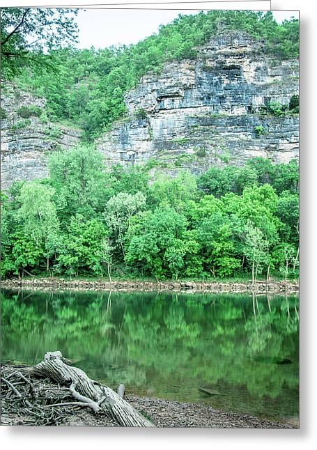 White River, Arkansas 4 Greeting Card