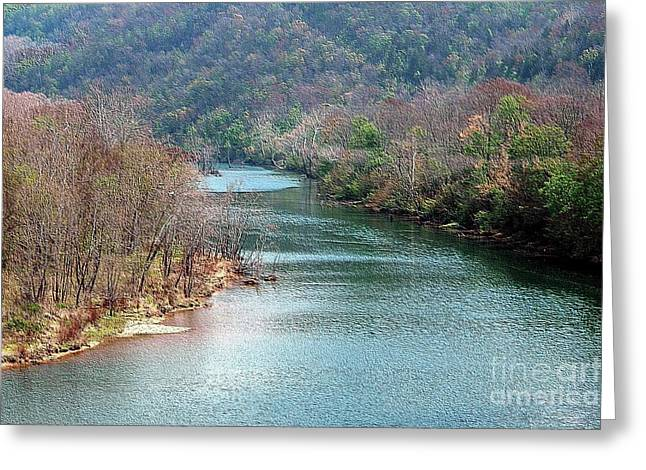 White River Greeting Card by Kathleen Struckle